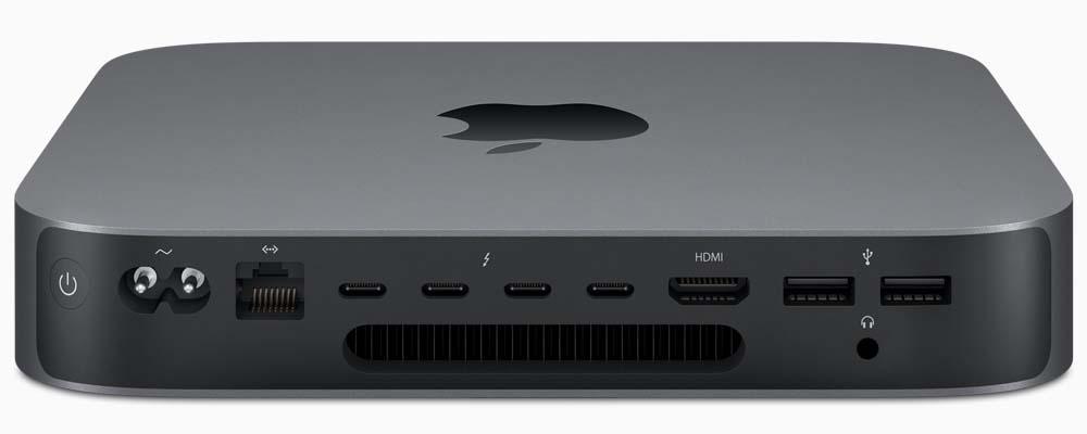 Mac Mini 2018 Ports